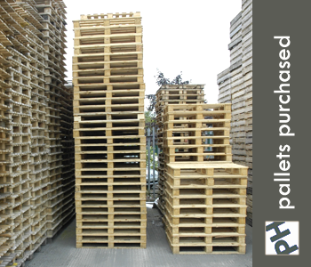 PH Pallets Wooden Pallets Purchased in the UK